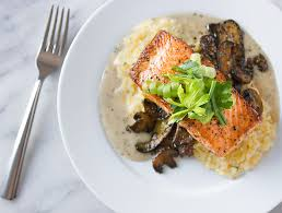 Beurre Blanc Sauce Recipe by Make Ahead Risotto Recipe With Mushrooms And Baked Salmon