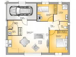 prix maison neuve 2 chambres plan de maison open plain pied 70 tradition vignette 1 plan