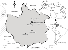 Venezuela Location On World Map by An Enigmatic Aquatic Snake From The Cenomanian Of Northern South