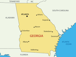 Map Of Atlanta Map Of Spain Guide Of The World