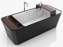 Contemporary Bathtub Slick Bathroom Minimalist Square Bathtub By Colacril 4 Modern