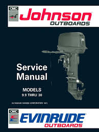 1992 johnson evinrude en 9 9 thru 30 service manual pn 508142 pdf