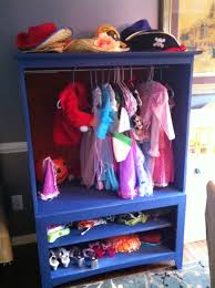 entertainment center to dress up closet saved by scottie