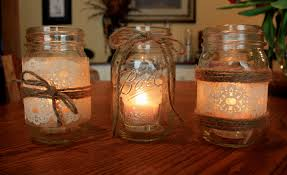 above mason jar ideas fall wedding decoration flowers diy