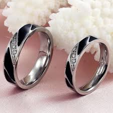his and hers black wedding rings wedding bands sets his and hers inspiring his and hers wedding