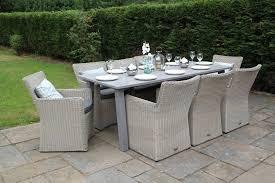 Garden Table Plastic 8 Seat Garden Furniture Zandalus Net
