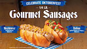 gourmet sausage wienerschnitzel goes big for oktoberfest