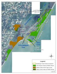 Eastern Shore Virginia Map by Virginia Institute Of Marine Science Wallops Island Assateague