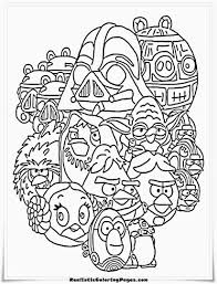 100 ideas angry birds star wars coloring pages emergingartspdx