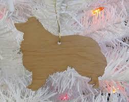 sheltie ornament etsy