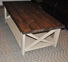 how to make a rustic table fascinating coffee rustic table ana white diy farmhouse gray of how