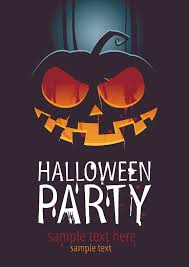 halloween posters beautiful background 03 vector free vector 4vector