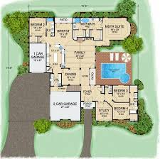 Luxury Mansion House Plan First Floor Floor Plans 627 Best House Plans Images On Pinterest Dream House Plans