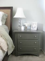 Gray Nightstands Lauren U0027s Little Blog Book Grey Nightstands She Had Grey Nightstands