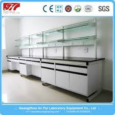 steel and wood chemical wall bench laboratory electrical work