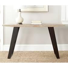 Overstock Sofa Table by Safavieh Waldo Natural Console Table By Safavieh Sofa End Tables