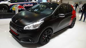 new peugeot sports car 2016 peugeot 208 gti by peugeot sport thp 208 exterior and