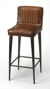 Leather Chair by Aviator Style Metal Leather Chair Hastac 2011