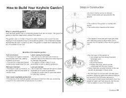 pdf how to build a keyhole garden gardening pinterest