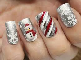 15 christmas glitter acrylic nail art designs 2016 xmas nails