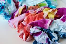tie dye headbands diy tie dyed t shirt headbands the pretty