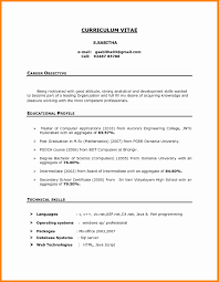 resume doc format sle resume in doc format fresh sle resume objectives for
