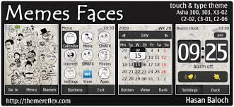Meme Names And Faces - requested theme memes faces theme for nokia asha 300 303 x3 02