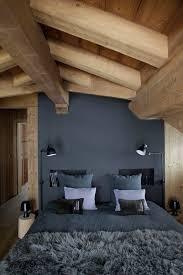 deco chambre montagne chambre adulte style montagne meilleur idées de conception de