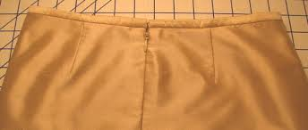 match seams perfectly across an invisible zipper