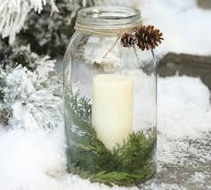 Mason Jar Candle Ideas Pottery Barn U0027ish Christmas Mason Jar U0026 Party Time Large Mason