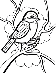 chuck yellow bird coloring printable pages tweety sheet