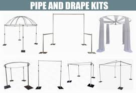 wedding backdrop kits sale rk pipe and drape kits for sale pipe and drape portable