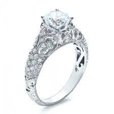 filigree engagement ring engagement ring with micro pave milgrain filigree