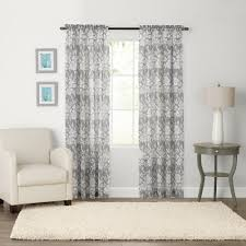 Crushed Voile Sheer Curtains by Goods For Life Karina Light Filtering Crushed Voile Window Curtain