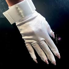 white wedding u2013 nail gloves u2013 unicorns glitter