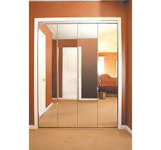 Mirror Bifold Closet Door Closet Mirror Bifold Closet Doors Great Hallway Surprising Slate