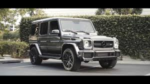 mercedes g class blacked out brabus kit and full blackout on black chrome g wagon g63 sd wrap