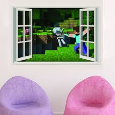 minecraft 3d creeper wall sticker 154 appachie