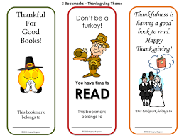 thanksgiving bookmarks a set of 6 by happyedugator teaching