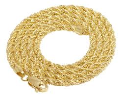 rose gold rope chain bracelet images Buy 10k 14k and 18k gold chains necklaces jpg