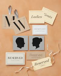 Wedding Seating Signs Printable Wedding Day Signage Martha Stewart Weddings