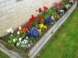 designing flower beds flower bed ideas for full sun pictures