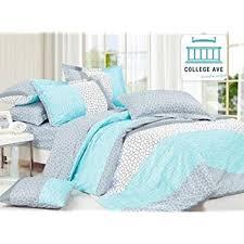 Extra Long Twin Bed Sheets Amazon Com Dove Aqua Comforter Set Twin Xl Twin Extra Long