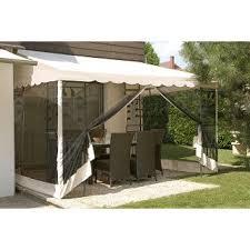 tonnelle de jardin avec moustiquaire veranda avec moustiquaire tout pour la maison