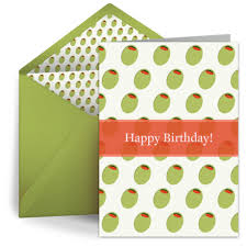 happy birthday olives birthday card for him happy birthday
