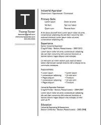 pages resume template 21 free resume designs every job hunter