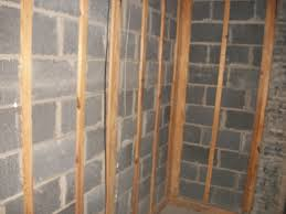 Insulating Basement Concrete Walls by Insulating Basement Wall With 1