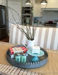 Kitchen Table Centerpiece Lovable Simple Kitchen Table Decor Ideas With Best 25 Everyday