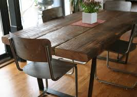 salvaged wood dining room tables photo gallery of reclaimed wood dining table viewing 11 of 15 photos