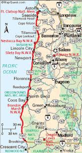 map of oregon 2 oregon coast travel the ways to get there